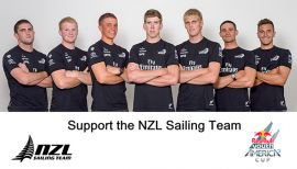 Support NZL Sailors for Youth America's Cup