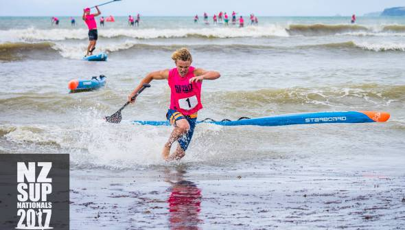 2017 NZ SUP and Prone Paddleboard Team